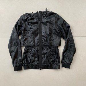 STELLA MCARTNEY ADIDAS black running jacket